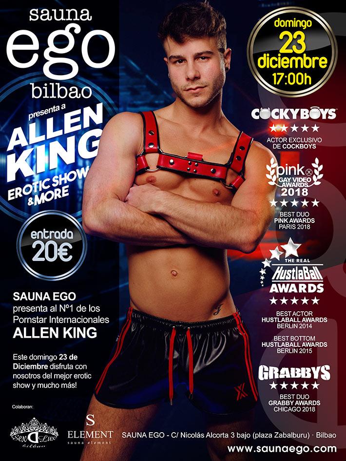 ALLEN KING 23 DICIEMBRE 2018 – 17:00 HORAS