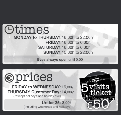 TIMES & PRICES